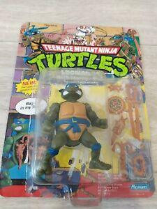 TMNT Storage Shell Leonardo Figure 1990 Playmates COMPLETE Mutant Ninja Turtles