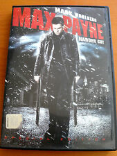 MAX PAYNE  DVD 2009 Widescreen  PAL FORMAT REGION 2  Mark Wahlberg