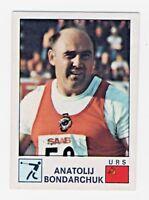1974 Panini Sport Vedettes #33 Anatolij Bondarchuk Russia Hammer Throw Gold