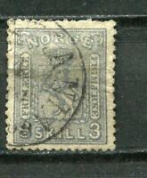 Norway 1863 Sc 7 Used Cv $525   6827