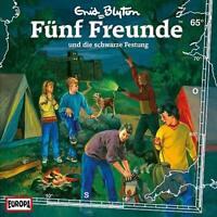 FÜNF FREUNDE Und die schwarze Festung 65 CD Kinder Hörspiel Enid Blyton * NEU
