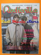 rivista ROCKERILLA 185/1996 Oasis Andrea Chimenti Beatles Stones Afterhouse*Nocd