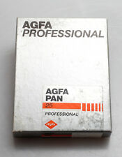 AGFA PAN 25  schwarz-weiss Film / eine Packung Planfilme 9x12 cm