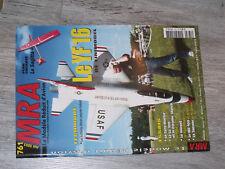 §§µ Revue MRA n°761 Plan encarté Le Sagitta + / Le YF 16 Le Lö 100 Me 109 Hornet