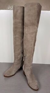 BP. 'Tessie' Over The Knee Boot, Taupe Suede, Womens Size 6 M