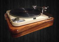 Plinth for Thorens TD 124, TD 121 gloss piano palisander (rosewood)