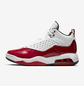 Air Jordan Maxin 200 (GS) CD6123-106 White Black Gym Red Youth Boy's Shoes NEW!