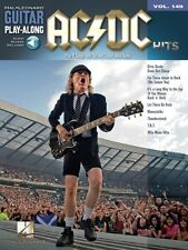 AC DC Hits Sheet Music Guitar Play-Along Book and Audio NEW 014041593