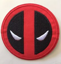 """Deadpool Dead Pool Marvel Embroidered Iron On / Sew On Patch 3"""" *USA SELLER*"""