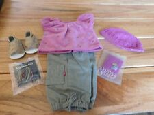 AMERICAN GIRL TODAY 2001 FIELD TRIP OUTFIT & SCHOOL ACCESSORIES NIB RETIRED