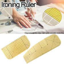 Hot Ironing Ruler Patchwork Tailor DIY Craft Sewing Supply Measuring Tool
