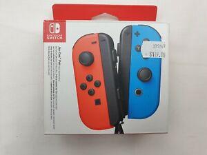 Nintendo Joy-Con Switch Controller Pair - Neon Red & Blue RRP $119  Free Ship ⛴