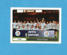 PANINI-EURO 2012-Figurina n.532- ESULTANZA - GERMANIA 1996 -NEW WHITE BOARD