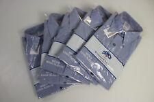 5 Pack Mens Military GENUINE US Navy Long Sleeve USN Blue Utility Shirt Medium
