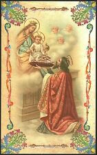 SANTINO HOLY CARD IMAGE PIEUSE - SANTO STEFANO D'UNGHERIA - RE, SANTO