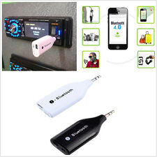 Mini 3.5mm Aux Out Wireless Bluetooth V3.0 Adaptor Receiver Car Phone Hands-free