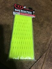 New Warrior Part A Hard Mesh Piece Neon Yellow Lacrosse Head String