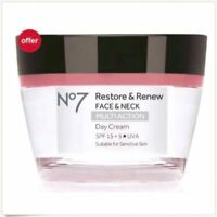 No7 Restore & Renew FACE & NECK MULTI ACTION Day & Nigh Cream