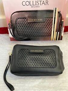 THE BRIDGE for Collistar Smart Neat Black Clutch Bag New in Box