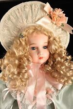 """Kingstate Dollcrafter Emily Graham's Belles French Bebes ERICA  25"""" Bisque Doll"""