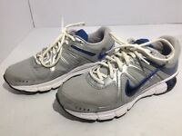 Nike Reax Rocket Running Shoes Gray Blue Athletic Men's Size 7