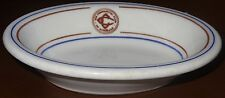 Commercial Club Honolulu fruit bowl dish Wallace China 1956 Rotary