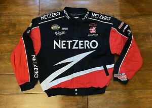 Ward Burton #0 Netzero Racing Race Jacket Mens Size Large NASCAR New Rare