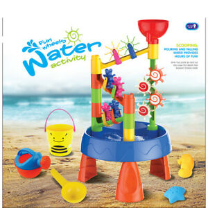 32PCS Kids Outdoor Seas Beach Sandpit Sprinkler Water Play Table Toy Shovel Kit