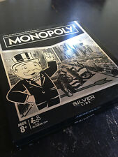Exclusive MONOPOLY SILVER LINE Edition from Toys R Us HASBRO HAS EVERYTHING