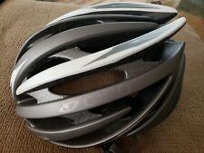 GIRO AEON CYCLING HELMET Size L Large  Titan Silver worn twice
