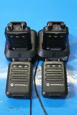 Motorola Pager Kit: Rln6505A *Group Of 4*2Chargers* @A54