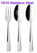 New- Villeroy & Boch Farmhouse Touch 3-Piece 18/10Stainless FlatWare Serving Set
