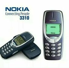 UNLOCKED NOKIA 3310 MOBILE PHONE REFURBISHED  12 MONTH WARRANTY-UK SELLER.