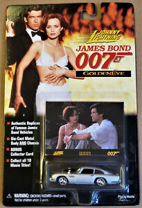 Johnny Lightning JAMES BOND 007 GOLDENEYE 1964 Aston Martin DB5 1:64 scale MIB