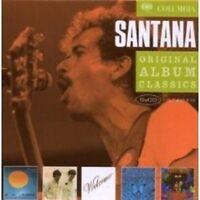 """SANTANA """"ORIGINAL ALBUM CLASSICS"""" 5 CD BOX NEW!"""