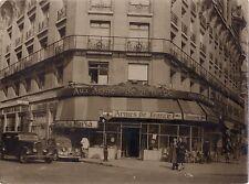 Brasserie Aux Armes de France Vintage argentique vers 1950