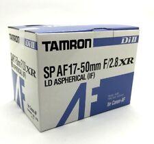 New TAMRON SP AF 17-50mm f/2.8 XR Di II Lens [A16] - Canon EF APS-C Format