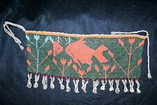 Cameroon, African Beaded Apron with Cowrie Shells .
