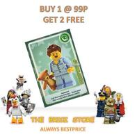 LEGO #008 - SLEEPYHEAD - CREATE THE WORLD TRADING CARD - BESTPRICE + GIFT - NEW