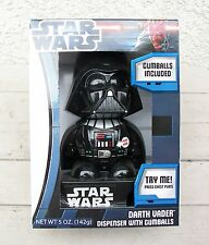 Star Wars Darth Vader Dispenser With Gumball Gum Ball Machine Lights & Sound NEW