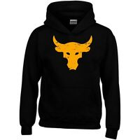Brahma Bull Hoodie The Rock Project Gym Bodybuilding MMA Workout Sweatshirt Top