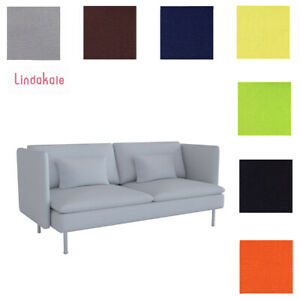 Custom Made Cover Fits IKEA Soderhamn Sofa, Three Seat Sofa Cover