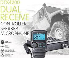 *NEW* ORICOM DTX4200 UHF DUAL RECEIVE 80 CH 5W RADIO LCD SPEAKER MICROPHONE
