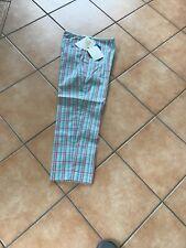 Liz Claiborne Ladies Cropped Trousers Cotton/ Lycra Turquoise Mix Size 10/12BNWT