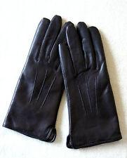 Elegante Lederhandschuhe Damenhandschuhe Handschuhe Leder braun Gr 6 1/2