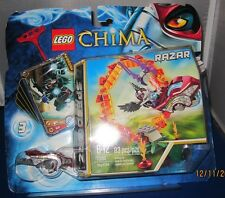 "LEGO Chima Speddorz 'RAZAR"" 83 pieces, Collector Card, Rip-Chord, Vehicle"