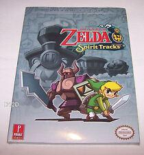 Nintendo The Legend Of Zelda Spirit Tracks Prima Games Strategy Guide New