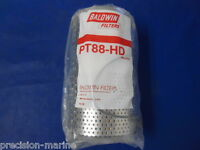 PT88-HD Lot of 4 Full-Flow Lube Or Hydraulic Element, Baldwin Filters, Microlite