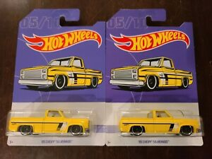 Hot Wheels 2019 American Pickup Truck Series '83 Chevy Silverado *CARD VARIATION