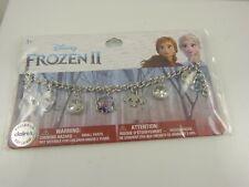 Disney Frozen 2, pulsera con dijes Olaf Crystal granos encantos Anna Elsa creer